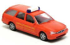 Rietze Ford Mondeo bomberos accidente investigación haz universidad Dresden rojo 1:87 h0