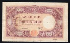 "*R4*  500  lire GRANDE ""C""  (B.I.) 1947  *R4*"