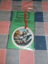Chrismas Ornament 1991 Bergquist Imports Erik Forsman Design Tree Birds