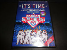 IT'S TIME--Incredible Season of the 2010 American League Champion Texas Rangers