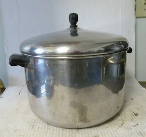 Vintage Farberware 8 Qt Stock Pot Aluminum Clad With Lid Bronx NY