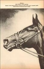 DAN PATCH, undefeated standardbred harness HORSE by George Ford Morris, 1952*
