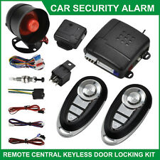 Car Security Alarm System Immobiliser Remote Central Locking Kit Keyless Entry