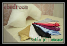 Super Soft Satin Boomerang V-Shaped Maternity Pillowcases - 8 colours
