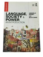 Language, Society and Power: An  Introduction Fourth Edition By Betsy Evans