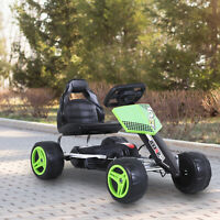 Pedal Go Karting Cart Kart Car Toy for Toddler Children Boys and Girls Green