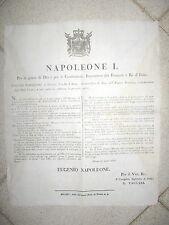 Y445-PERIODO NAPOLEONICO-ISTITUZIONE PRESSO I TRIBUNALI DELL'UFFICIO DELLE IPOT.