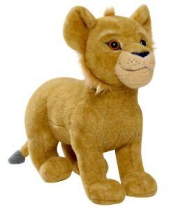 "Disney The Lion King 14"" Large Plush Simba Stuffed Animal with Sound NEW"