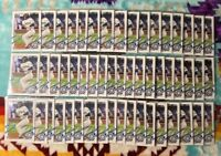(LOT OF 10) 2021 Topps Series 1 Evan White Rookie Base RC🔥Seattle Mariners