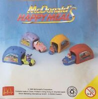 McDonalds Happy Meal Toy 1996 Speedsters + Plastic Garage Toys - Various Colours