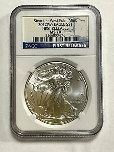 2012 (W) Silver Eagle First Release