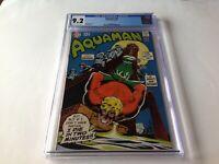 AQUAMAN 44 CGC 9.2 BONDAGE COVER DC COMICS