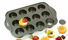 Norpro 3917 Nonstick 12 Mini Cup Cheesecake Pan-muffins, quiche, tartlets