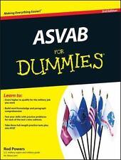 ASVAB For Dummies Powers, Rod Paperback