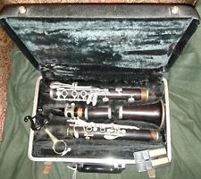 Intermediate Selmer Signet 100 Wood Clarinet with case, acceptable condition