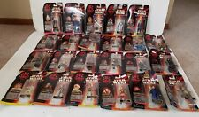 Lot of 23 Sealed Star Wars Episode 1 Comm Tech Action Figures by Hasbro w/Reader