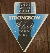 Strongbow White Alcoholic Cider Beer Mat