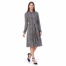 J by Jasper Conran Blue Stripe Shirt Dress Size UK 12 rrp £65 DH170 LL 18