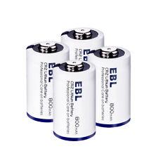 4Pack Ebl Cr2 3V Lithium Battery Single Use Batteries for Flashlight Camera