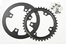 4 Boulon 38 dents vélo de montagne 38 T Chainring 104 mm BCD + Alliage Garde