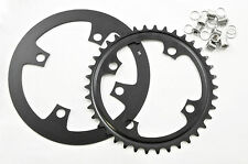 4 BOLT 38 TEETH MOUNTAIN BIKE 38T CHAINRING 104mm BCD + ALLOY GUARD