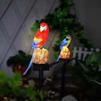 Parrot LED Solar Power Lawn Light Waterproof Garden Landscape Lamp Outdoor Decor