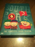 South Park - The Complete Third Season (DVD, 2003, 3-Disc Set)