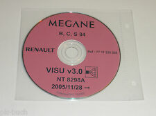 Schematics On CD Renault Megane - Stand 11/2005