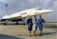 5 France Concorde Pic's *Anv Colors*Air France Main's Team 2001 Kodac pictures