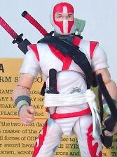 STORM SHADOW v23 Cobra LEGIONS Ninja~ G.I. Joe 25th ANNIVERSARY~ 100% COMPLETE~b
