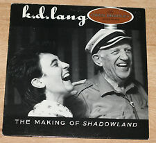 K.D. LANG THE MAKING OF SHADOWLAND 1988 US LP PROMO OWEN BRADLEY SESSIONS SIRE