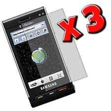 3x Samsung Memoir T929 Clear Screen Protectors Plus 3 FREE Cleaning Cloths _3711
