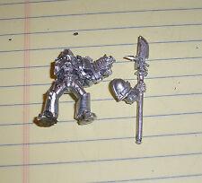 40k Rare oop vintage Metal Space Marine Grey Knight Trooper w Halberd 6