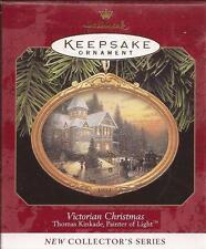 "Hallmark 1997   ""VICTORIAN CHRISTMAS"" Thomas Kinkade  Ornament **NEW**"