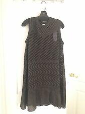 Missoni Womens Black Sleeveless Cocktail Dress 46 US SIZE 10 Retails $695