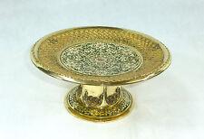 Seltene Platte Obstplatte um 1900 Erhard & Söhne Bronze Emaille