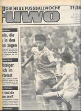 Die neue Fussballwoche-FUWO-DDR 1988...27/88 bis 52/88...25x Wochenzeitungen