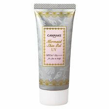 Canmake Mermaid Skin Gel UV 01 40g New Sunscreen SPF50+ PA++++  Free Shipping