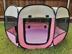 Portable Pet Playpen for Dogs or Cats (New - Indoor/Outdoor - Foldable) - 2584