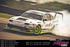 Aerokit Spec D1 BODYKIT for NISSAN S13 200SX bumper sideskirts drift race track