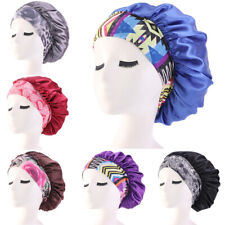 Womens Satin Sleeping Hat Bonnet Hair Care Hijab Chemo Cap Wrap Headscarf Turban