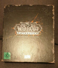 World of Warcraft - Cataclysm Collectors Edition - Leer Leerer Pappsschuber WoW