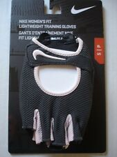 NIKE Women's Fit Lightweight Training Gloves Anthracite/Prism Pink Size S/P New