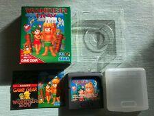SEGA Game Gear Spiel - Wonder Boy - Japan Import - komplett mit OVP