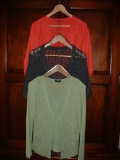 3 x Women's Size Small - 10 Cardigans from Marks & Spencer, PER UNA & Mexx