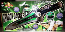NEW SEALED Mighty Morphin Power Rangers legacy green ranger dragon dagger o
