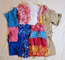 Lot of 9 Girls Summer Clothing Size 5, 5/6 & Small Youth Nautica, Epic Threads