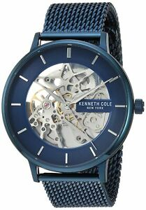 Kenneth Cole New York Men's Automatic Blue Stainless Steel Watch KC50780003
