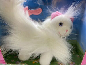 Barbie Pets GINGER Persian White cat NRFB 67572 1998 VINTAGE