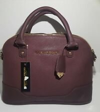 Christian Siriano Greer dome bag (wine color) NWT, Handbag Crossbody bag,Purse